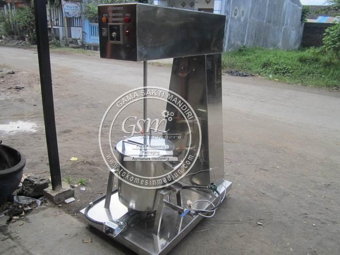 Mesin Mixer Pasteurisasi